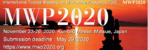 IEEE International Topical Meeting on Microwave Photonics 2020