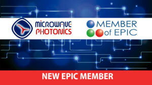 Microwave Photonics GmbH becomes EPIC member.
